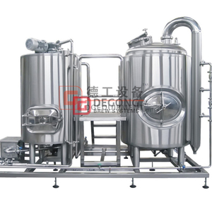 500L Micro Commercial Craft Beer Brewhouse معدات للبيع